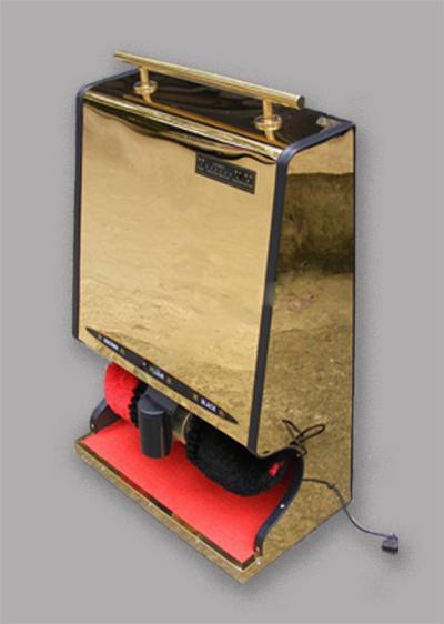 自动感应式擦鞋机